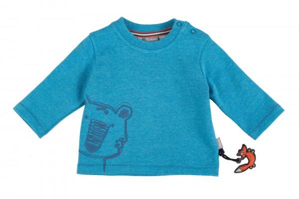 Flauschiges Jungen Sweatshirt mit Eisbär-Moiv