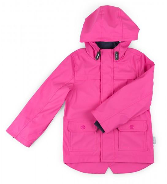 Pinke Regenjacke für Mädchen