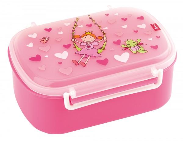 Brotzeitbox für Mädchen in rosa mit Pinky Queeny