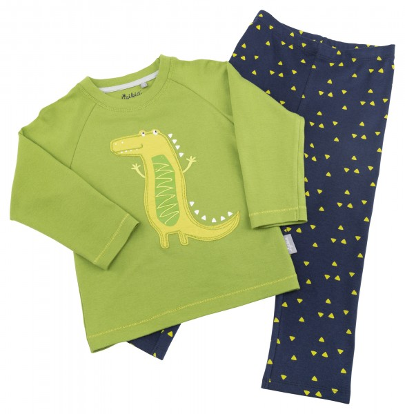 08194c639e Jungen Schlafanzug mit Krokodil Motiv | sigikid - First class for kids