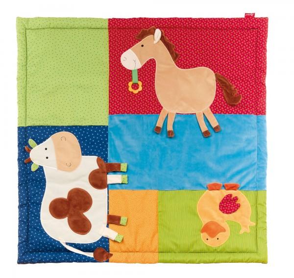 Baby Spieldecke Bauernhof Tiere, PlayQ