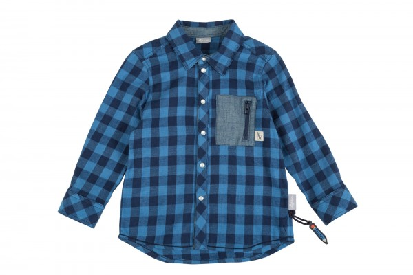 Lässiges Flanell-Hemd für Jungs