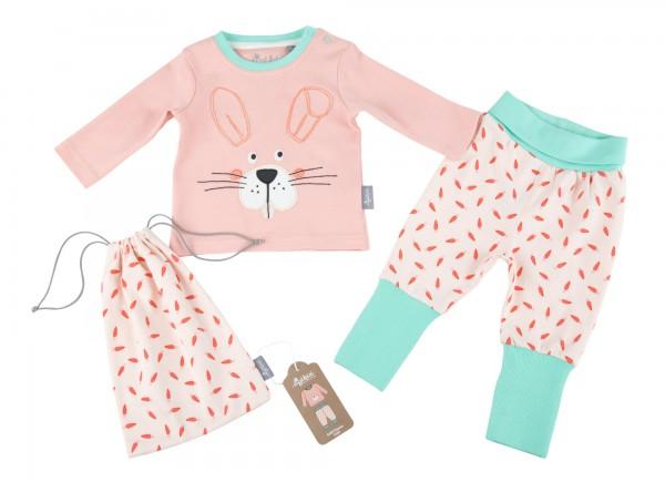 Baby Schlafanzug mit Häschen