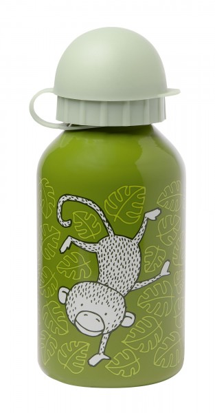 Edelstahl Trinkflasche Affen