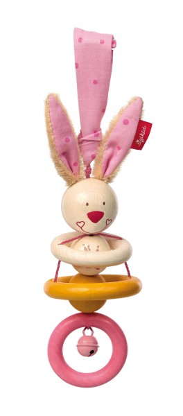 Holz-Anhänger Hase Bungee Bunny
