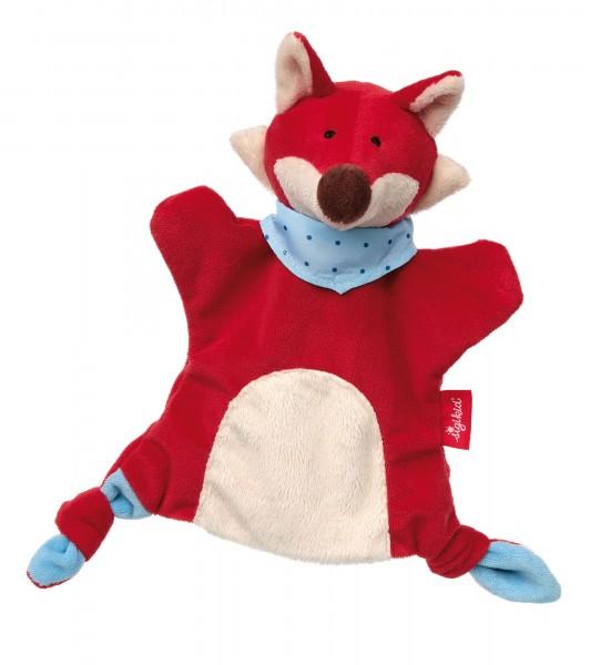 Handpuppen Schnuffeltuch Fuchs