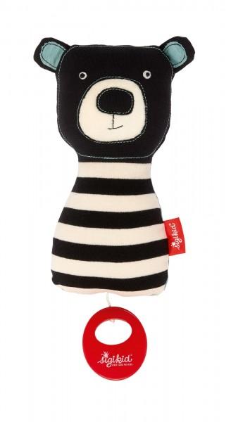 Spieluhr Bär Black & White
