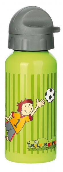 Kinder Trinkflasche für Fußball Fans Kily Keeper