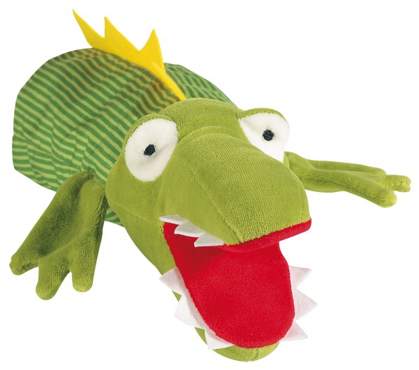 Handpuppe Krokodil - Kasperles Gegenspieler von sigikid
