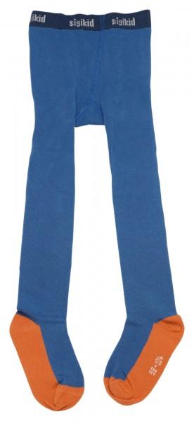 Blaue Jungenstrumpfhose