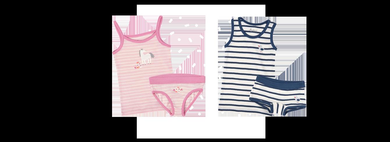 Underwear babys and kids