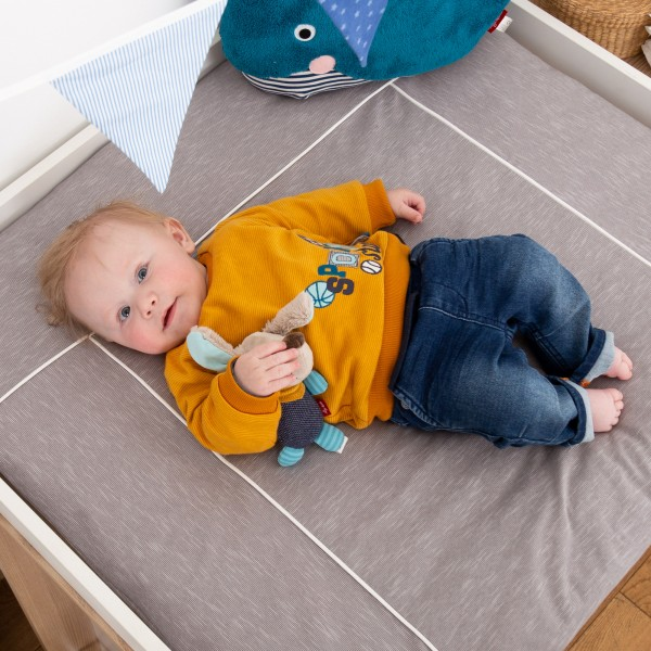 Dual-layered baby long sleeve Sports Star