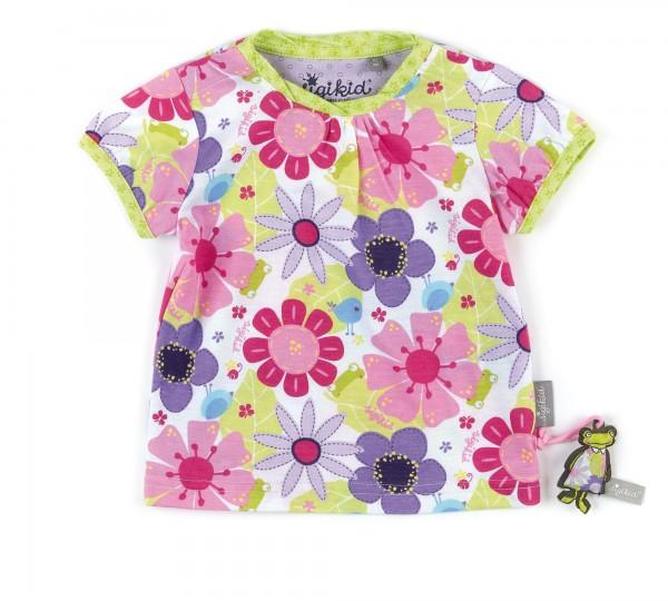Babyshirt Blumendruck