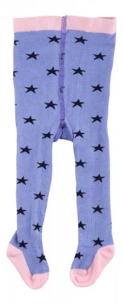 Baby Strumpfhose himmelblau mit Sternchen