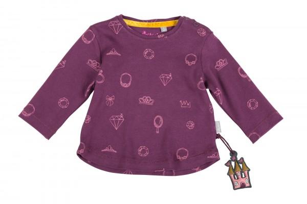 Baby Langarmshirt mit Schmuck-Print