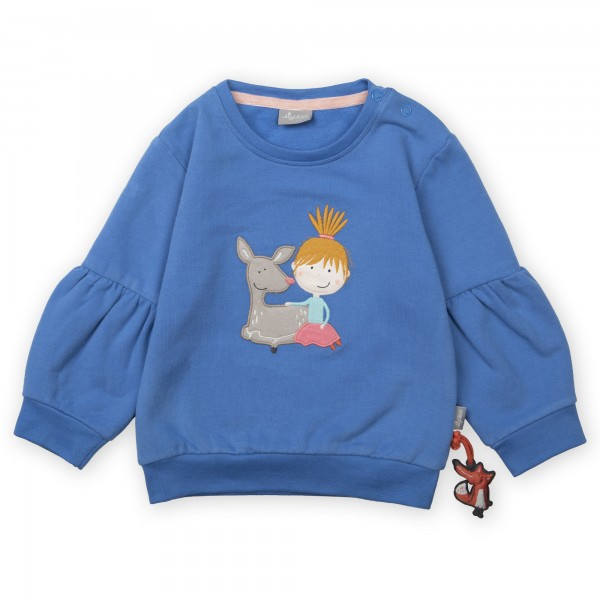 Kuschel-Sweatshirt mit Rehkitz, Baby