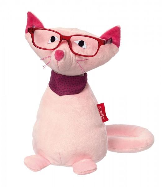 Kuscheltier Brillenträger Katze