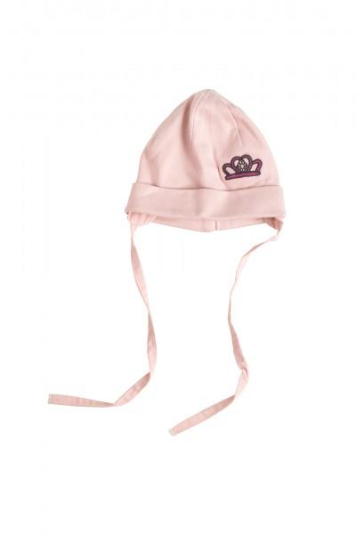 Weiche Babymütze in rosa