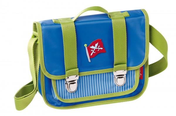 Kindergartentasche für Jungen in grün-blau