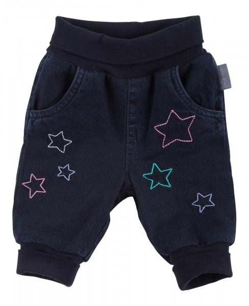 Gefütterte Baby Jeans mit Sternchen