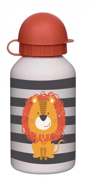 Edelstahl Trinkflasche Löwe