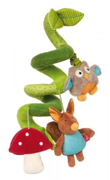 Babyschalenspielzeug Eichhörnchen