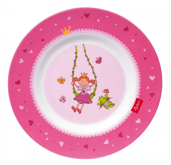 Kinder Teller mit Prinzessin Pinky Queeny