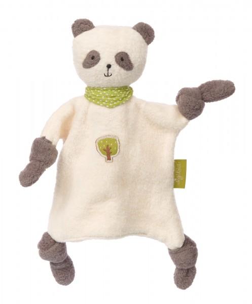 Schnuffeltuch Panda Green