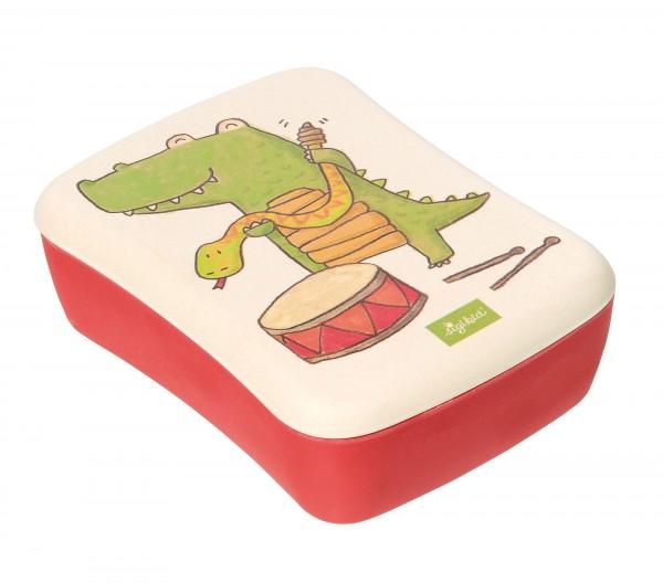 Bambus Brotbox Krokodil