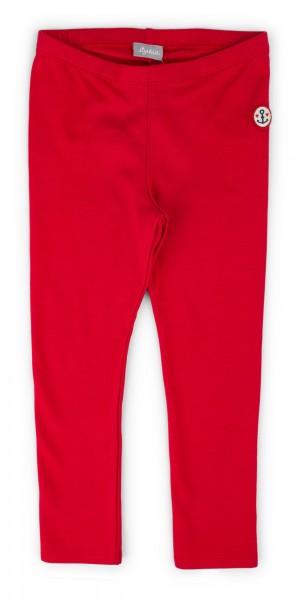 Rote Mädchen Leggings