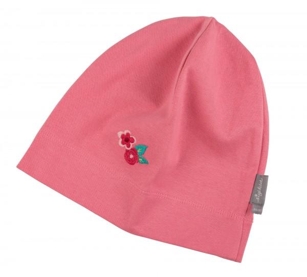 Rosa Beanie Mädchenmütze