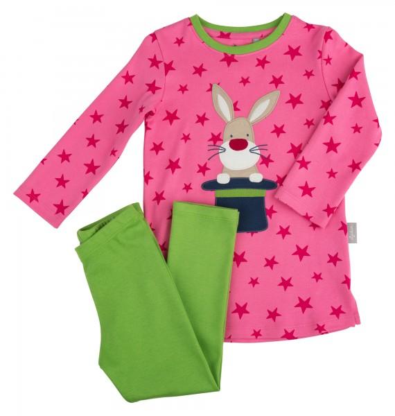 Mädchen Schlafanzug Zauberhase