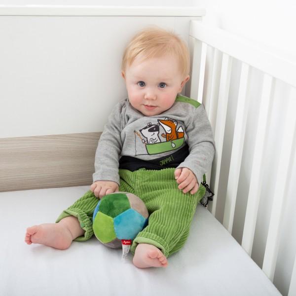 Grüne Baby Cordhose
