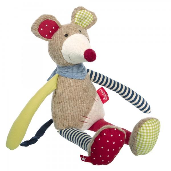Schmusetier Maus im Patchworkstyle
