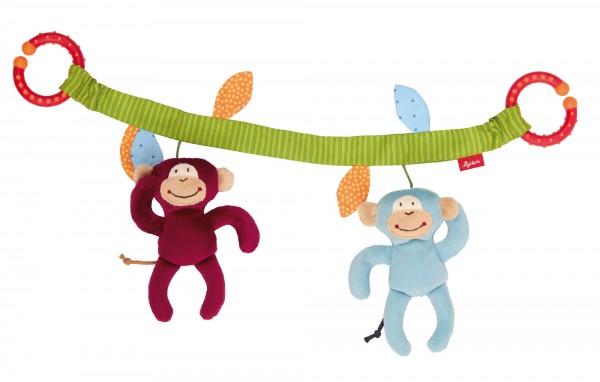 Wagenkette Affenbande