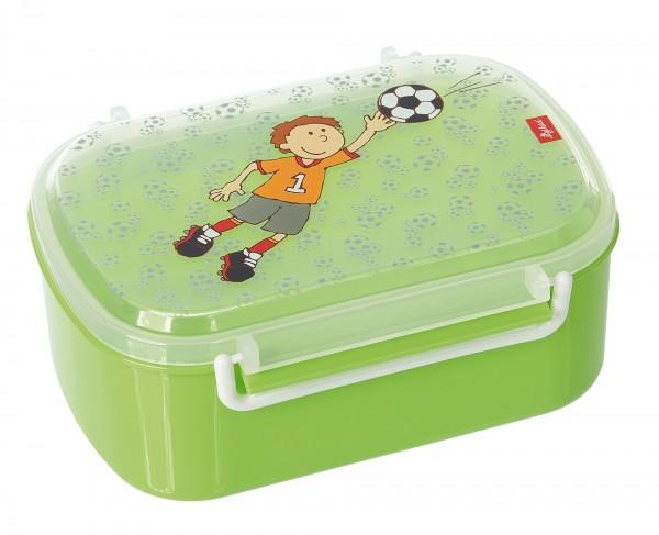 Kinder Brotzeitbox für Fußballfans mit Kily Keeper