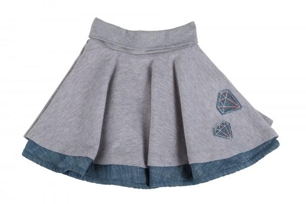 Schwungvoller zwei-in-eins Mädchenrock
