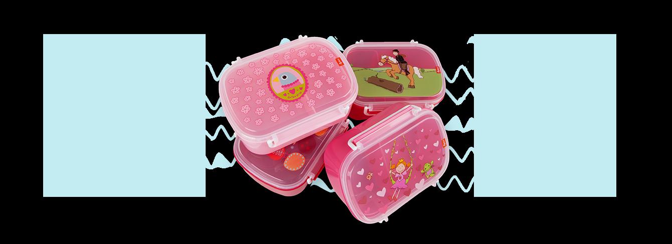 Brotboxen und Kindergeschirr