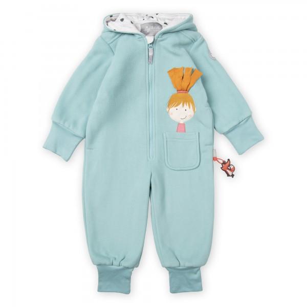 Baby Fleece Overall mit Motiv