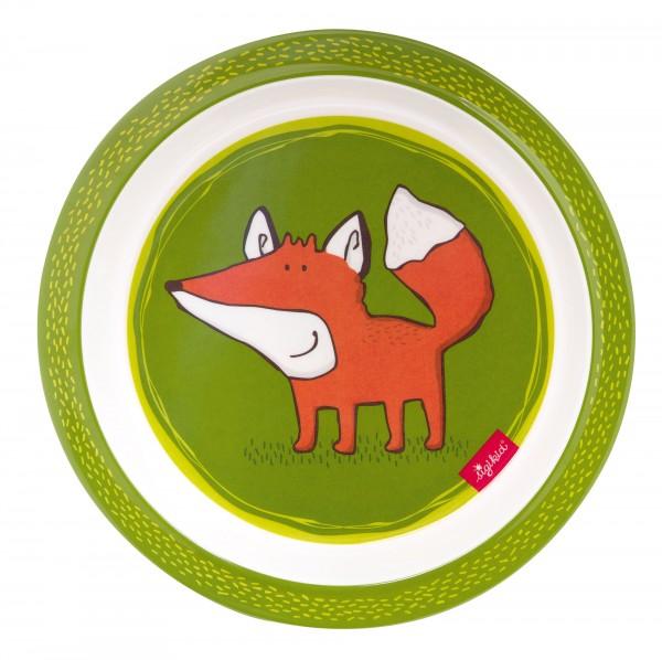 Melamin Teller Forest Fox