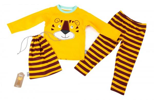 Jungen Schlafanzug mit Tiger