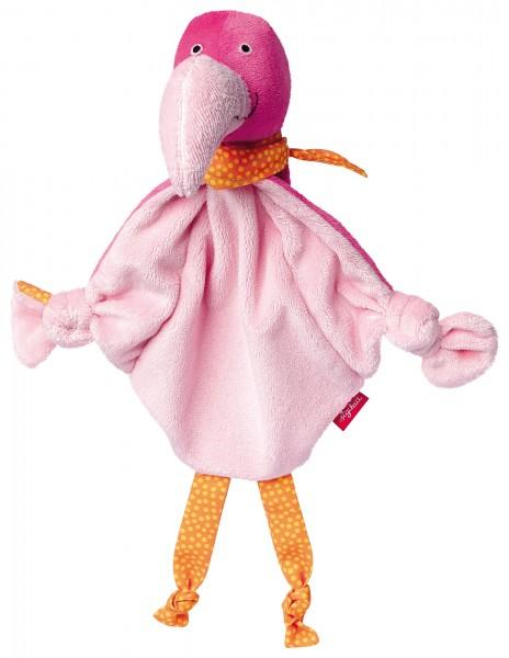Schnuffeltuch Flamingo