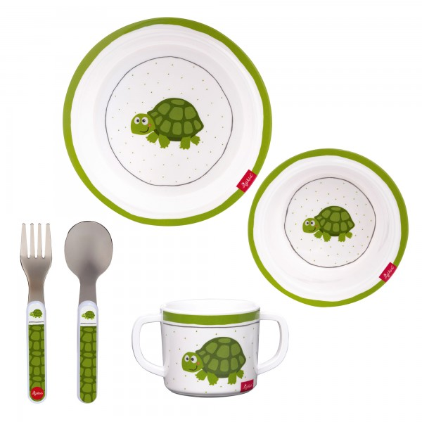 Melamin Set Schildkröte