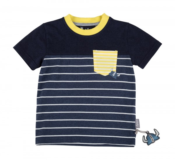 Jungen T-Shirt mit Brusttasche Gr. 92-128 | sigikid