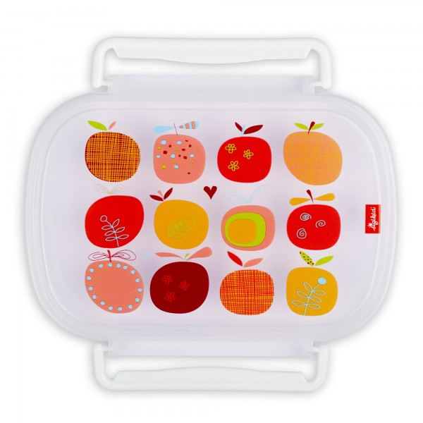 Brotbox-Ersatzdeckel Apfelherz