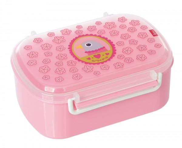 Kinder Brotzeitbox rosa mit Finky Pinky