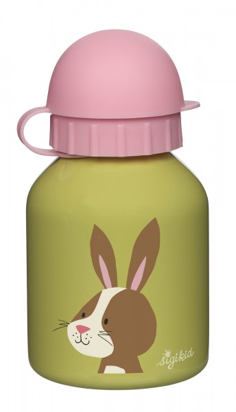 Edelstahl Trinkflasche Hase, Forest Friends