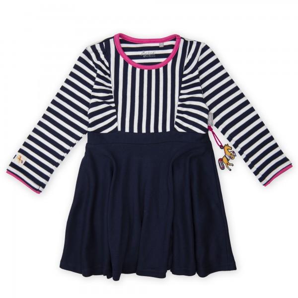 Marineblaues Mädchenkleid