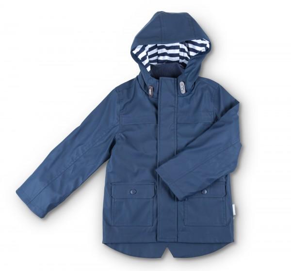 Blaue Regenjacke für Mädchen und Jungen