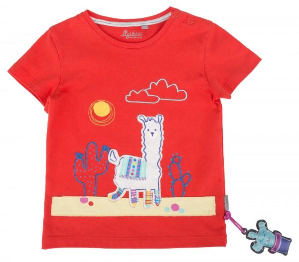 SIGIKID Rotes Babyshirt für Mädchen